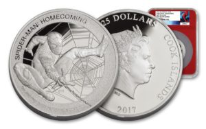 U.S. Money Reserve Releases New Spiderman Set